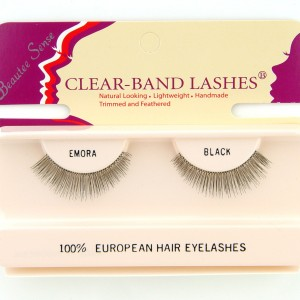 100_european_hair_eyelashes_clear_band_lashes_emora_black