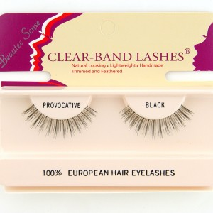 100_european_hair_eyelashes_clear_band_lashes_provocative_black