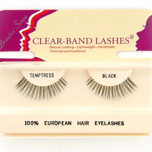 100_european_hair_eyelashes_clear_band_lashes_temptress_black
