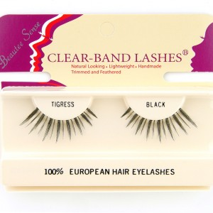 100_european_hair_eyelashes_clear_band_lashes_tigress_black